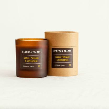 Rebecca Tracey Lemon Patchouli Lemongrass Candle | Restoration Yard
