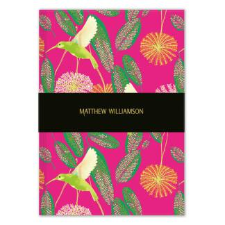 Matthew Williamson Hummingbird Notebook by Museums and Ga|leries Restoration Yard