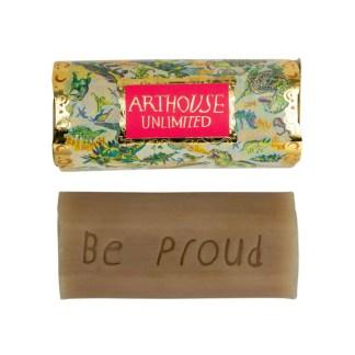 Art House Unlimite Rhubarb Ginger Inscribed Soap | Restoration Yard