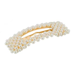 Dansk Copenhagen Rectangle Pearl Hair Clip | Restoration Yard