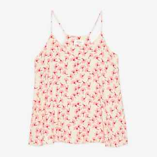 Ottod'ame Printed Floral Strappy Top
