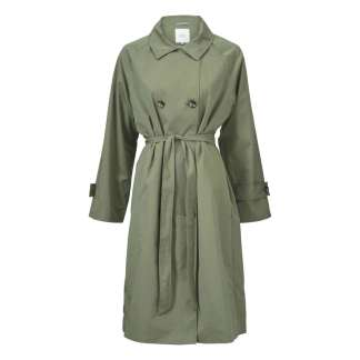 Tanya Coat in Olive by Masai Clothing | Restoration Yard