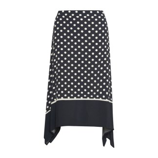 Part Two Bayan Skirt in Dark Navy Dot | Restoration Yard