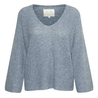 Part Two Blenda Jumper in Dusty Blue | Restoration Yard