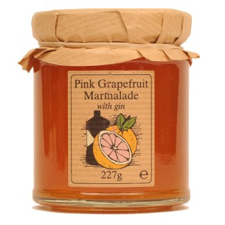 Pink Grapefruit Marmalade with Gin By Edinburgh Preserves | Restoration Yard
