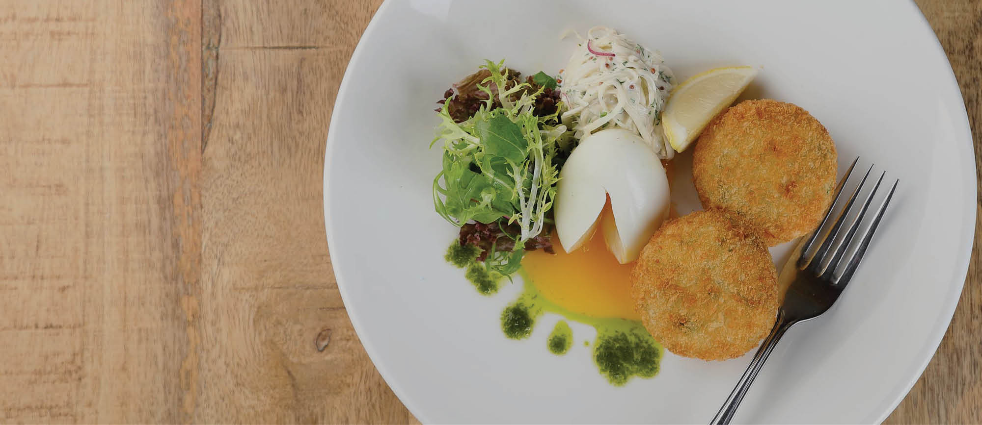 Salmon, Lemon and Parsley Fishcakes Recipe by The Kitchen at Restoration Yard