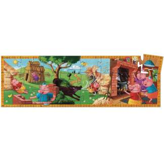 Djeco The Three Little Pigs Puzzle 24 Pieces   Restoration Yard
