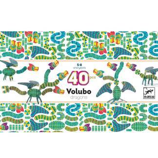 Volubo Dragon 40 Pieces by Djeco | Restoration Yard