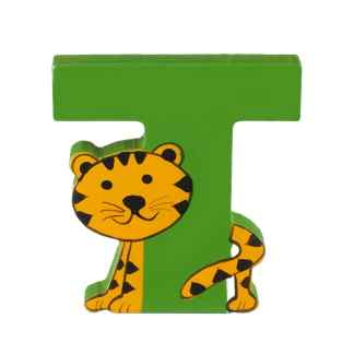 Wooden Letter T by Orange Tree Toys | Restoration Yard