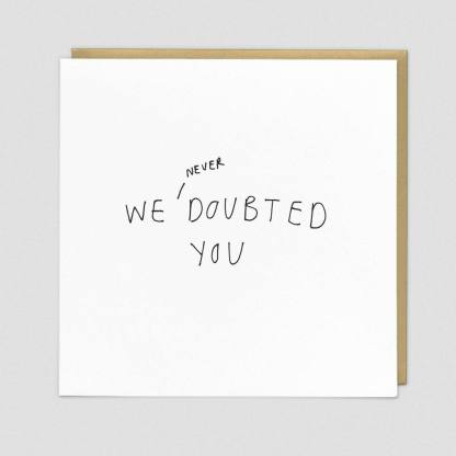 Doubted Greeting Card by Redback   Restoration Yard