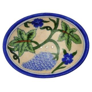 Soap Dish Blue Grape Vine by Tranquillo | Restoration Yard