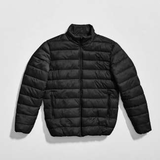 Puff Jacket Black by Selected Homme | Restoration Yard