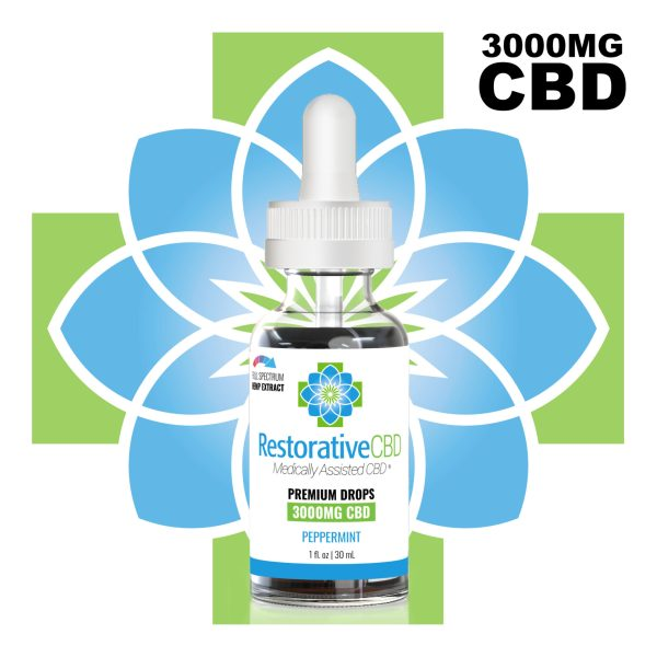 3000mg Full spectrum CBD - Shop Premium Hemp Derived Products at Restorative CBD