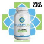 Restorative CBD Gummies 300mg - Shop Premium CBD Products now