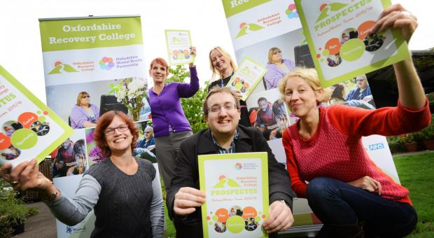 Oxfordshire Recovery College is launched!