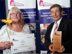 Recognition for Restore's Volunteers at Charity Awards