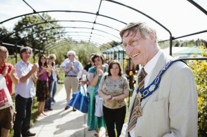 Fleet Meadow community garden is opened by Didcot Mayor