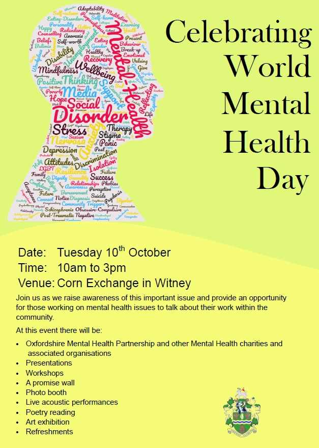 Join Us As We Raise Awareness Of This Important Issue And Provide An Opportunity For Those Working On Mental Health Issues To Talk About Their Work Within