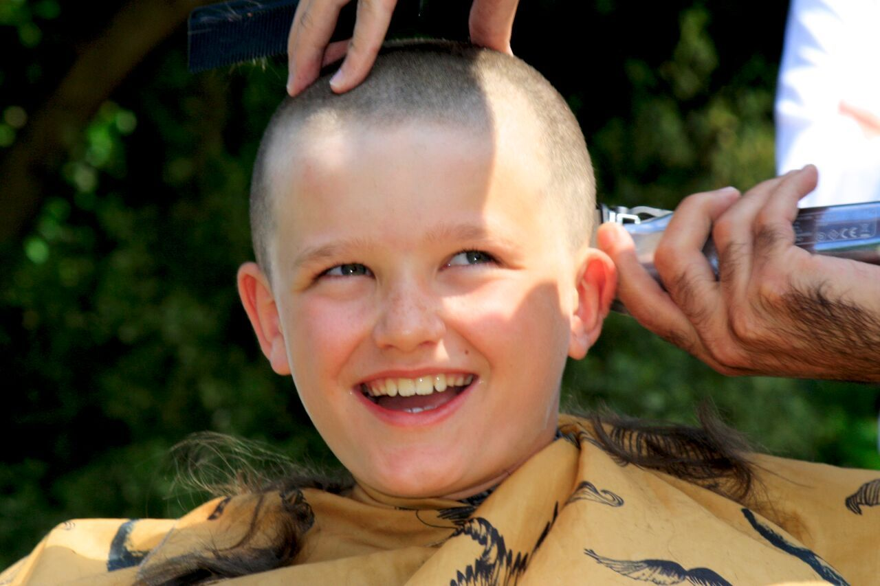 Local boy, 10, shaves off hair for Restore