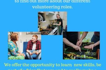 Volunteer Recruitment evening, Tuesday 26th February