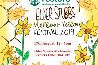 Restore announces the 2019 date for Elder Stubbs Festival