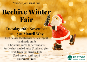 The Beehive Winter Fair @ The Garden Cafe