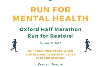 Run for #TeamRestore in the 2020 Oxford Half Marathon