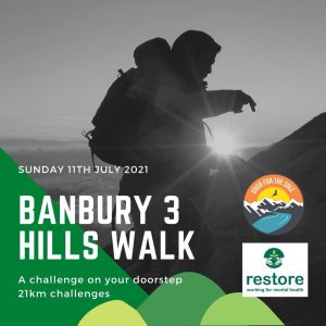 Good for the Sole-Banbury 3 Hills Walk 2021 (21km) @ Banbury - Crouch Hill and Hobbs Hill
