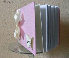 guest book nunta roz crem fluturi1