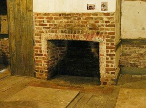 East parlour fireplace repaired May 2015