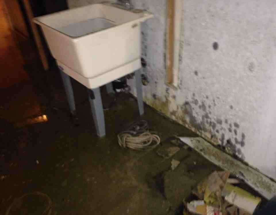 Basement Flooded With Dirty Water Featured Picture