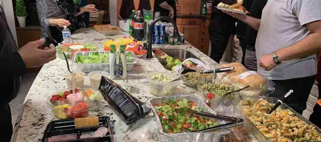 Constructeam Halloween Potluck Lunch Fraser MI 01