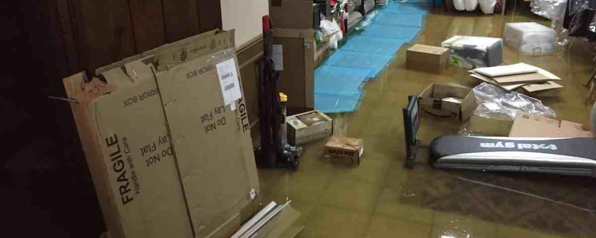 Basement Water Damage After Heavy Rain