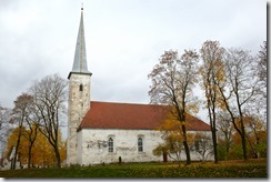 Lutheran church, Johvi, Estonia.