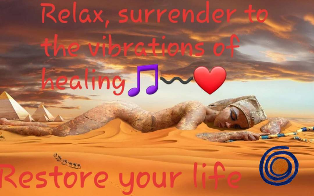 Relax, surrender to the vibrations of healing 🌀〰️🎵💃