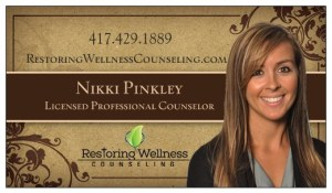 Contact Restoring Wellness Counseling to make your appointment