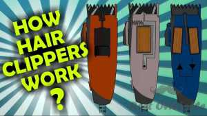 How do hair clippers work