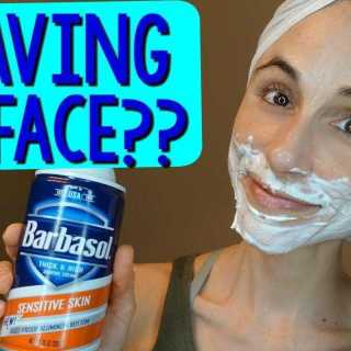 A Woman's Guide to Shaving Her Face 1