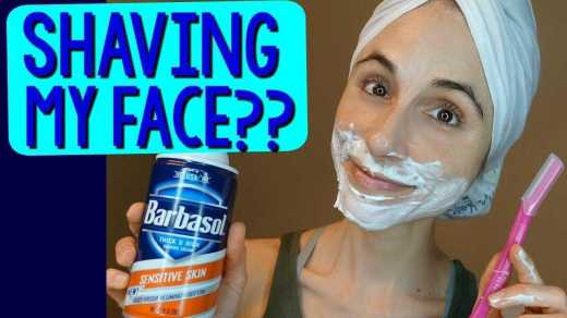 A Woman's Guide to Shaving Her Face 2