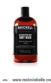 Brickell Invigorating Mint Body Wash 1