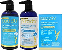 PURA D'OR Hair Loss Prevention Premium Organic Argan Shampoo