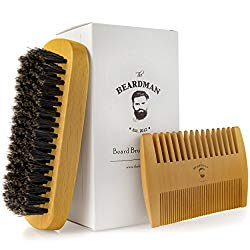 The Beardman Beard & Hair Brush