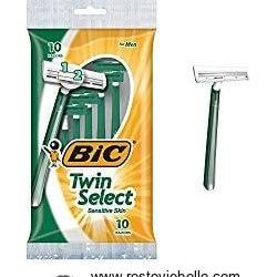 Bic Twin Select Sensitive Skin Disposable Razor