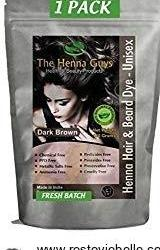 The Henna Guys Hair - Best Beard Dye For Sensitive Skin