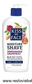 Kiss My Face organic shaving cream