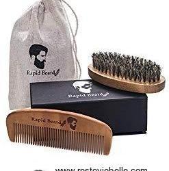 Rapid Care Beard Brush and Beard Comb Kit