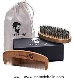 Rapid Care Beard Brush and Beard Comb Kit
