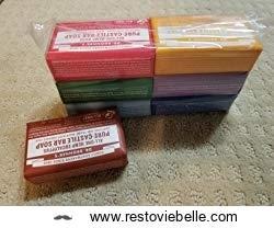 Dr- Bronner's Original Organic Castile Bar Soap - Best Moisturizing Bar Soaps 1