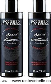 Polished Gentleman Beard Growth and Thickening Shampoo and Conditioner