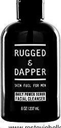 Rugged & Dapper Daily Power Scrub Facial Cleanser for Men